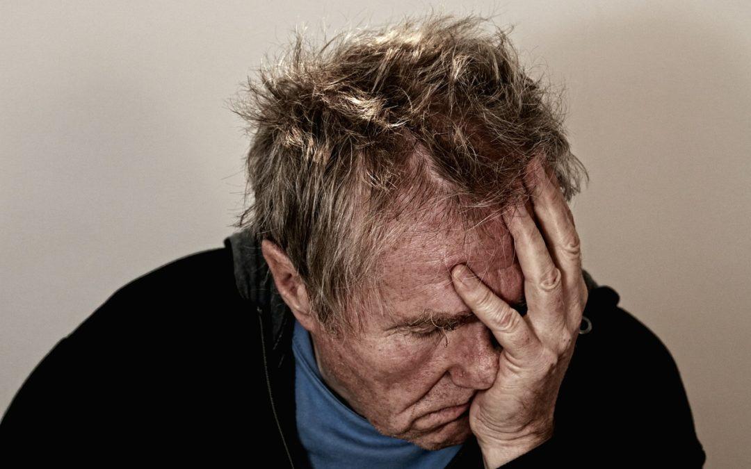 La dépression est plus difficile à surmonter pour les personnes âgées