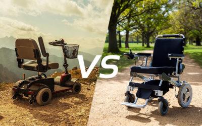 Mobilité des séniors : Fauteuil roulant électrique ou scooter électrique ?