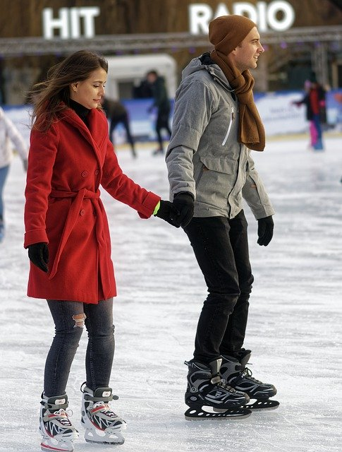 patin glace Paris