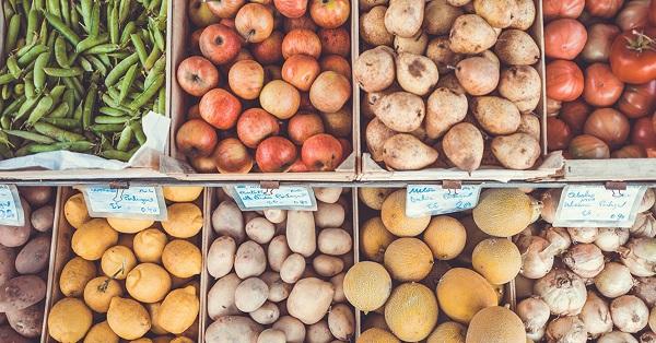 Fruits et légumes- donation aux restos du coeur